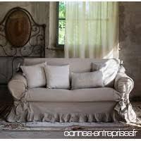 housse de canapé grande taille jeté de canapé plaid canape grande taille gris clair greige é
