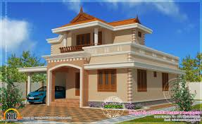 simple home design simple double storied house elevation indian house plans