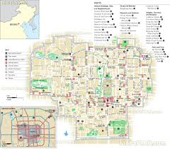Beijing World Map by City Centre Free English Travel Guide Must See Sights Best