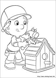handy manny coloring pages 18280
