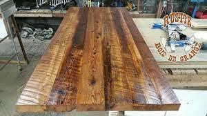 comptoir cuisine bois tables bars comptoirs et îlots granby rustik meubles design