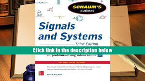 audiobook schaum s outline of signals and systems 3rd edition