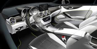 mercedes concept style coupe interior dashboard eurocar news