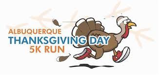 albuquerque thanksgiving day 5k turkey trot thursday november