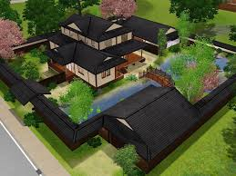 japan traditional home design mod the sims himeya inn another japanese house