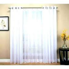 white sheer panels doublecashme curtain window single panel beach