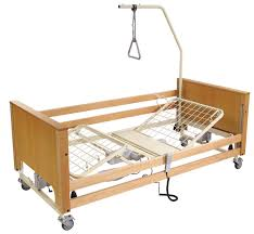 Lifting Bed Frame by Solutions Medical Medical Homecare
