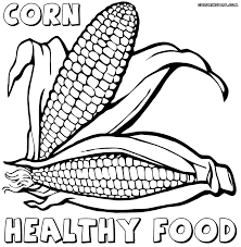 healthy food coloring pages coloring pages to download and print