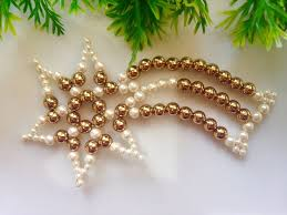 fresh pearl decorations best 25 beaded ornaments