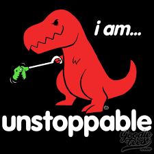 Funny T Rex Meme - i am unstoppable sad t rex t rex s short arms know your meme