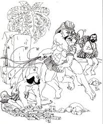 moses leaving egypt coloring page murderthestout