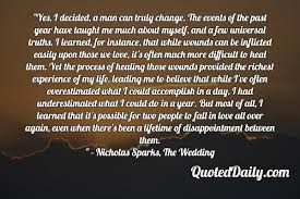 wedding quotes nicholas sparks archives quoteddaily daily quotes