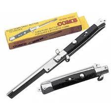 Sisir Pria sisir pomade sisir lipat switchblade comb