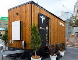 tiny house show tesla starts australian tiny house tour to show off energy products