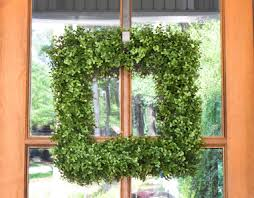artificial boxwood wreath boxwood wreath artificial square mills floral company