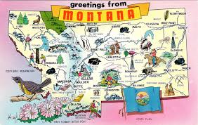 Map Of Montana by World Come To My Home 2207 United States Montana Montana