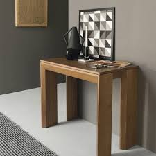 extending console dining table mistery console table by connubia calligaris extending dining table