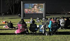 inflatable movie screen rental movie in the park rent a screen