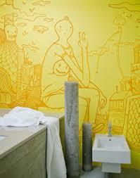 illustrative wall art mural interior design ideas