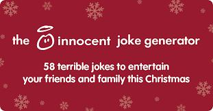 the innocent christmas cracker joke generator