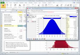 Sample Stock Portfolio Spreadsheet Risk Risk Analysis Software Using Monte Carlo Simulation For