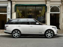 land rover white black rims long wheelbase range rover coming march 2014