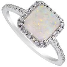 natural white opal rings pink opal ring rose gold opal ring australian opal rings