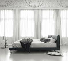 Slate Bed Modloft Chelsea Platform Bed In Slate Leather Beyond Stores