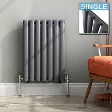 nrg radiator 600 x 408 mm anthracite column designer radiator