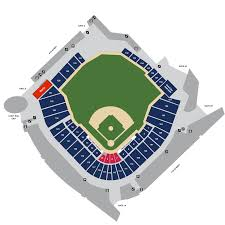 Mlb Map Target Field Map Minnesota Twins