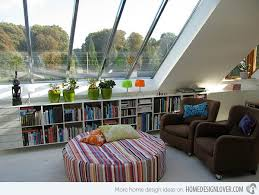 WellDesigned Living Spaces In The Attic Home Design Lover - Well designed living rooms