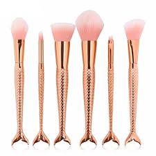 the frushy long tail makeup brush set beauty essentials store