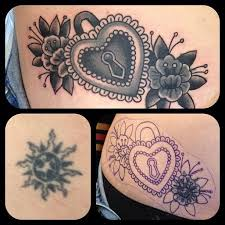 33 best cover up tattoos images on pinterest tatoos black