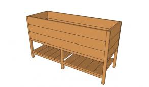 Wood Planter Box Plans Free by Garden Design Garden Design With Diy Design Fanatic How To Make