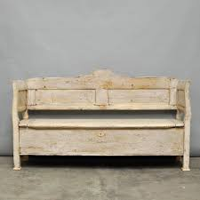 vintage hungarian storage bench 1920s for sale at pamono