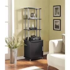 ameriwood home carson audio stand cherry black walmart com