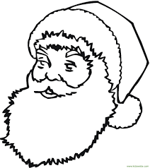 santa coloring pages printable for kids looking for christmas