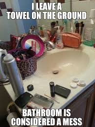 Messy Bathroom 12 Things You Should Do As A Courtesy To Your Roommates