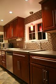 Slate Backsplash Kitchen Brighton Township Kitchen Renovation Window Kitchens And Slate