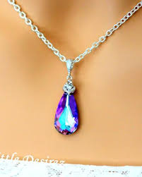 light purple necklace images Purple amethyst mauve little desirez jewelry JPG