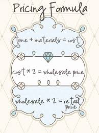 price for a pricing formula basics do not forget that this is only part of