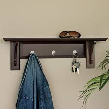 wall mounted coat rack with hangers tradingbasis