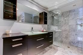 modern master bathroom with flush u0026 undermount sink in palm beach