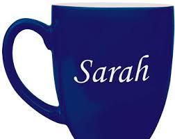 11 oz personalized green enamel ceramic porcelain coffee cup