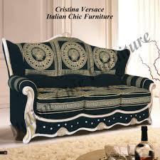 Versace Sofa Cristina 3 1 1 Versace Fabric Sofa Set