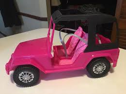 barbie jeep 2000 barbie pink passport sisters cruiser mercari buy u0026 sell things