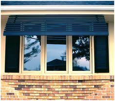 Remove Awning From House Oh Yes To Replace Those Awful But Necessary Metal Awnings On The