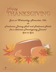 thanksgiving dinner this week gsu panther dining