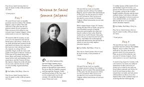 st gemma galgani free printable saint gemma novena pamphlet