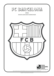 barcelona soccer team coloring pages football player playing
